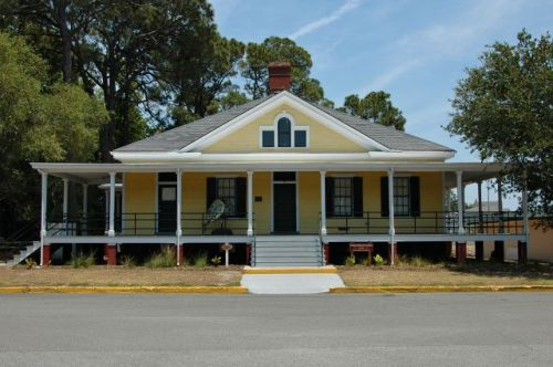 tybee island ga historic fort screven guard house photograph copyright brian brown vanishing coastal georgia usa 2016