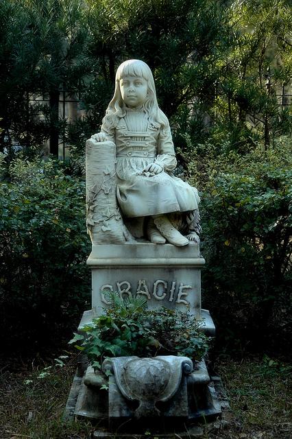 Little Gracie Bonaventure Cemetery Vanishing Coastal