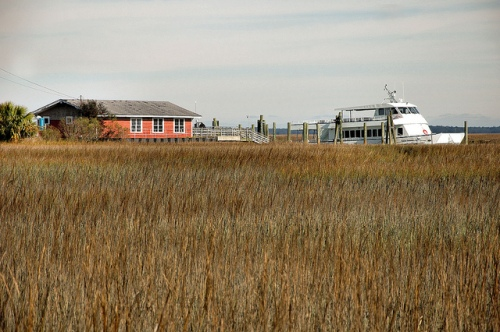 sapelo-island-ga-ferry-station-meridien-ga-mcintosh-county-national-estuarine-research-gullah-geechee-culture-african-american-history-atlantic-marshes-picture-image-photo-copyright-bria