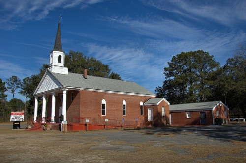 Bryan Neck GA Bryan County Primitive Baptist Church African American History Picture Image Photo © Brian Brown Vanishing Coastal Georgia USA 2013