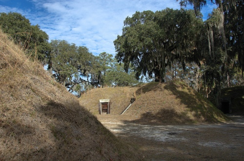 Fort McAllister GA Bryan County Civil War Fortification March to the Sea Bunkers Munitions Picture Image Photo © Brian Brown Vanishing Coastal Georgia USA 2013