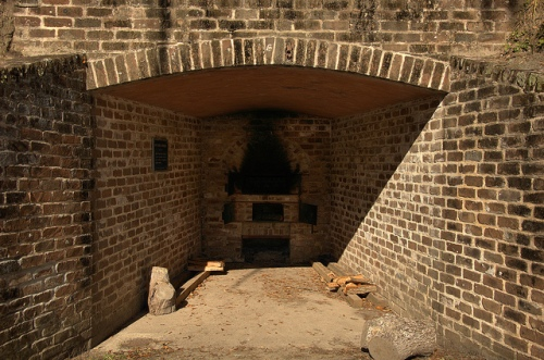 Fort McAllister GA Bryan County Civil War Fortification March to the Sea Hot Shot Oven Furnace for Fiery Canonballs Defense Picture Image Photo © Brian Brown Vanishing Coastal Georgia USA 2013