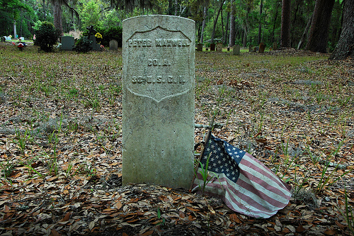 Peter Maxwell US Colored Infantry Headston Behavior Cemetery Sapelo Island GA Picture Image Photograph © Brian Brown Vanishing Coastal Georgia USA 2013