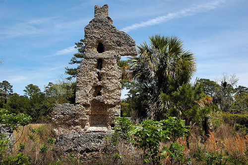 Sapelo Island GA Tabby Chimney Plantation House Chocolate Thomas Spalding Antebellum Picture Image Photograph © Brian Brown Vanishing Coastal Georgia USA 2013