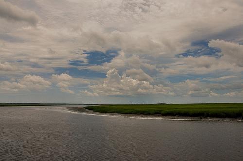 Duplin River GA Sapelo Island Picture Image Photograph © Brian Brown Vanishing Coastal Georgia USA 2013