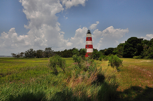 Sapelo Island GA Light Lighthouse Station Picture Image Photograph © Brian Brown Vanishing Coastal Georgia USA 2013