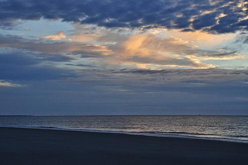 Jekyll Island GA Morning on Beach Sunrise Picture Image Photograph Copyright © Brian Brown Vanishing Coastal Georgia USA 2013