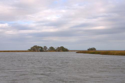 North River McIntosh County GA Hird Island Area Photograph Copyright Brian Brown Vanishing Coastal Georgia USA 2013