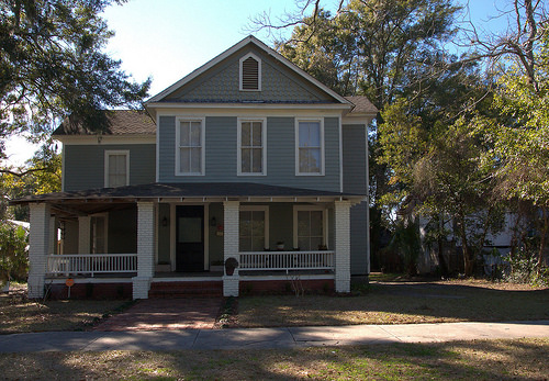 Henry C. Day House Where Sidney Lanier Recovered from Tuberculosis and Was Inspired to Write Marshes of Glynn Photograph Copyright Brian Brown Vanishing Coastal Georgia USA 2014