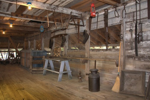 Hofwyl Broadfield Plantation Glynn County GA Commissary Interior Photograph Copyright Brian Brown Vanishing Coastal Georgia USA 2014
