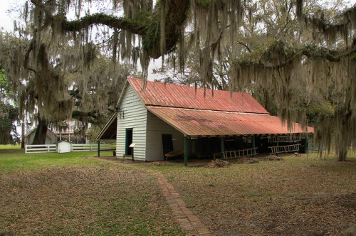 Hofwyl Broadfield Plantation Glynn County GA Commissary Photograph Copyright Brian Brown Vanishing Coastal Georgia USA 2014