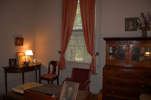 Hofwyl Broadfield Plantation Glynn County GA Master Bedroom Study Photograph Copyright Brian Brown Vanishing Coastal Georgia USA 2014