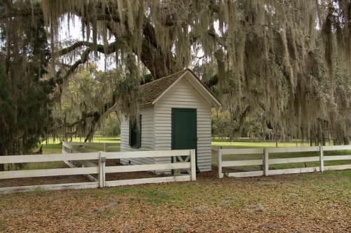 Hofwyl Broadfield Plantation Glynn County GA Pay Shed Photograph Copyright Brian Brown Vanishing Coastal Georgia USA 2014