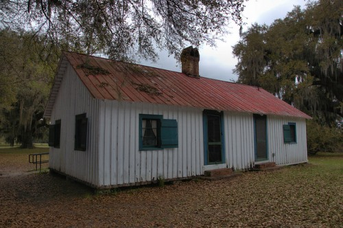 Hofwyl Broadfield Plantation Glynn County GA Servant Quarters Photograph Copyright Brian Brown Vanishing Coastal Georgia USA 2014