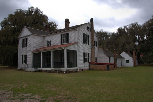 Hofwyl Broadfield Plantation Main House Antebellum Vernacular Architecture Old Days Photograph Copyright Brian Brown Vanishing Coastal Georgia USA 2014