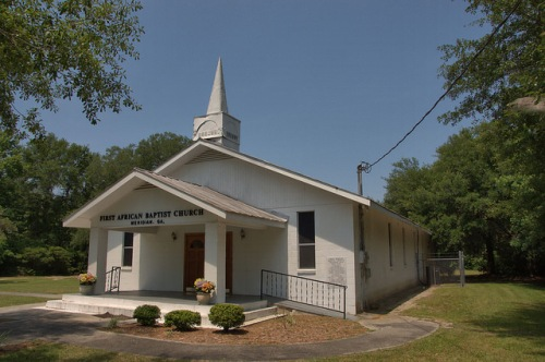 First African Baptist Church Meridian GA McIntosh County Photograph Copyright Brian Brown Vanishing Coastal Georia USA 2014