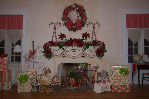 Ashantilly Darien GA Christmas Decorations Photograph Copyright Brian Brown Vanishing Coastal Georgia USA 2014