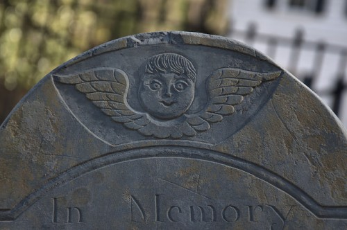 Midway Congregational Church Cemetery Liberty County GA Slate Winged Death Tympanum of James Wilson Photograph Copyright Brian Brown Vanishing Coastal Georgia USA 2015