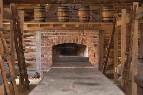 Fort King George Darien GA Barracks Hearth Photograph Copyright Brian Brown Vanishing Coastal Georgia USA 2015