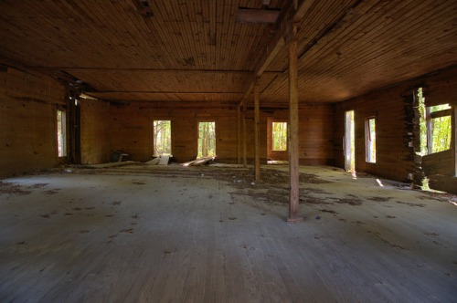 Union Brotherhood Society Interior Midway GA Liberty County Photograph Copyright Brian Brown Vanishing Coastal Georgia USA 2015
