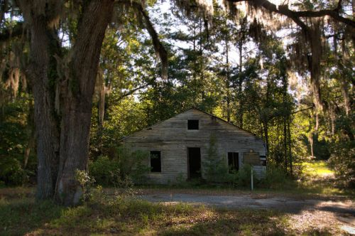 Union Brotherhood Society Midway GA Liberty County Endangered African American Historic Site Photograph Copyright Brian Brown Vanishing Coastal Georgia USA 2015