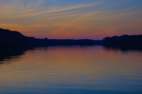 Ogeechee River Looking West Kings Ferry Landing Chatham Coiunty GA Sunset Photograph Copyright Brian Brown Vanishing Coastal Georgia USA 2015