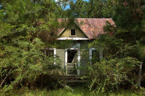 Brookman GA Lula & Arthur Wright House Photograph Copyright Brian Brown Vanishing South Georgia USA 2015