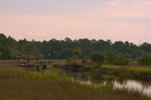 Fancy Bluff Creek Glynn County GA Anguilla Community Photograph Copyright Brian Brown Vanishing Coastal Georgia USA 2015