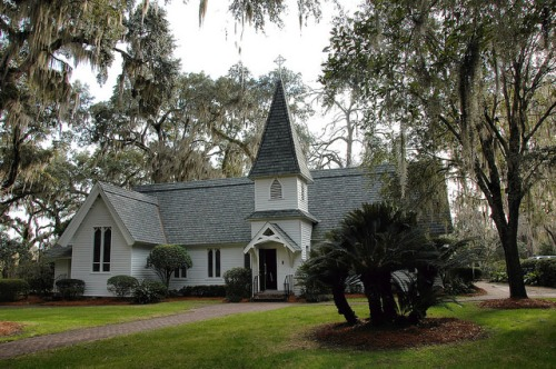 Historic Christ Church Frederica St Simons Island GA Photograph Copyright Brian Brown Vanishing Coastal Georgia USA 2015
