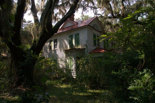 Historic Atwood House Cedar Point GA Photograph Copyrigh Brian Brown Vanishing Coastal Georgia USA 2015