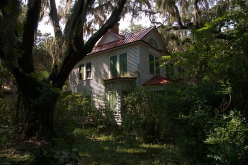 Historic Atwood House Cedar Point GA Photograph Copyrigh Brian Brown Vanishing Coastal Georgia USA 2015
