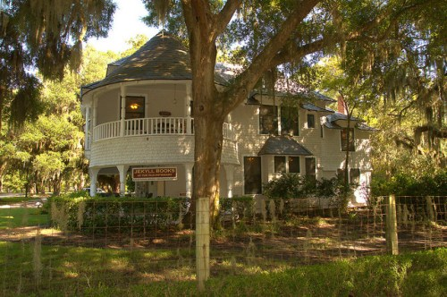 Jekyll Island Millionaires Village Old Infirmary W R Furness House Glynn County GA Photograph Copyright Brian Brown Vanishing Coastal Georgia USA 2015