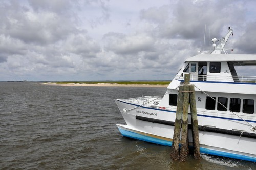 Sapelo Island GA Ferry Katie Underwood Photograph Copyright Brian Brown Vanishing Coastal Georgia USA 2015