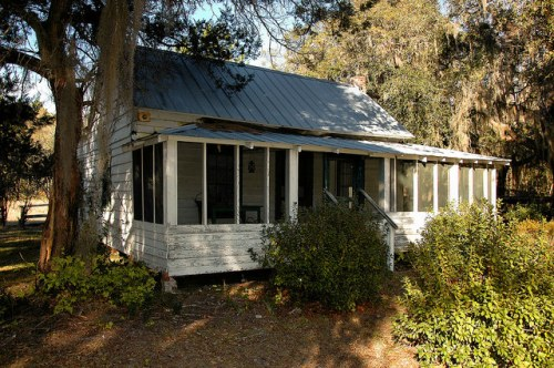 Eddie Bowens House 1903 Historic Seabrook Village GA Liberty County Photograph Copyright Brian Bown Vanishing Coastal Georgia USA 2015