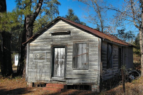Freedmens Grove GA Liberty County Historic African American Store Building Photograph Copyright Brian Brown Vanishing Coastal Georgia USA 2015