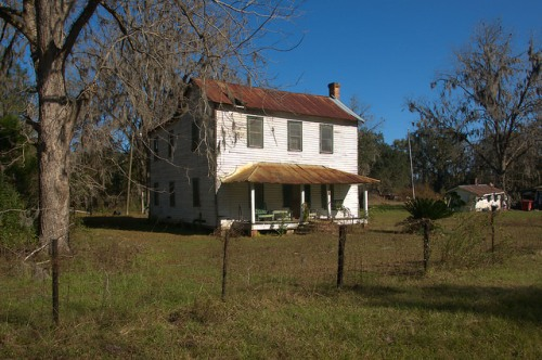 Freedmens Grove GA Liberty County Lambright House Photograph Copyright Brian Brown Vanishing Coastal Georgia USA 2015