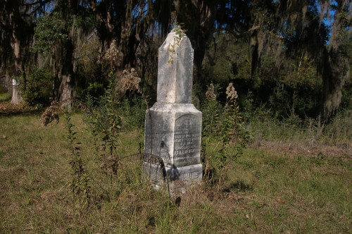 Freedmens Grove GA Liberty County Reverend Joseph Williams Memorial Ebenezer Presbyterian Church Photograph Copyright Brian Brown Vanishing Coastal Georgia USA 2015
