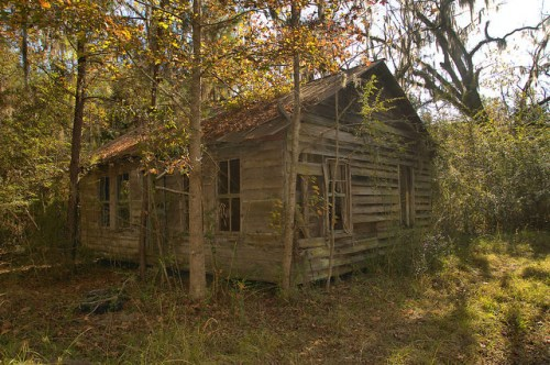 Freedmens Grove GA Liberty County Vernacular House Photograph Copyright Brian Brown Vanishing Coastal Georgia USA 2015