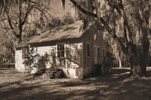 Altama Plantation Glynn County GA Hunting Cabin Near Main House Photograph Copyright Brian Brown Vanishing Coastal Georgia USA 2016