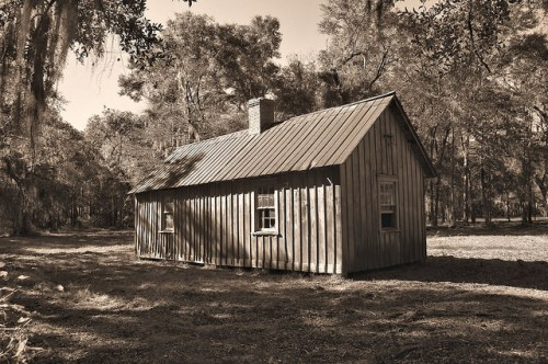 Altama Plantation Glynn County GA Hunting Cabin Photograph Copyright Brian Brown Vanishing Coastal Georgia USA 2016