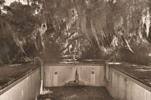 Altama Plantation Glynn County GA Lodge Swimming Pool Photograph Copyright Brian Brown Vansihing Coastal Georgia USA 2016