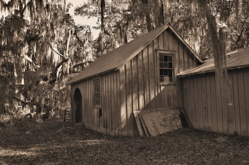 Altama Plantation Glynn County GA Work Barn Photograph Copyright Brian Brown Vanishing Coastal Georgia USA 2016