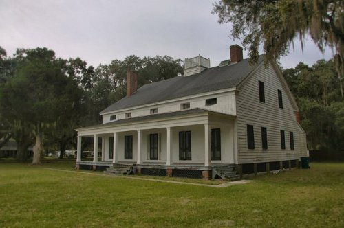 Kilkenny Plantation Bryan County GA Photograph Copyright Brian Brown Vanishing Coastal Georgia USA 2015