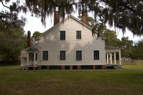 Kilkenny Plantation Clubhouse Bryan County GA Photograph Copyright Brian Brown Vanishing Coastal Georgia USA 2015