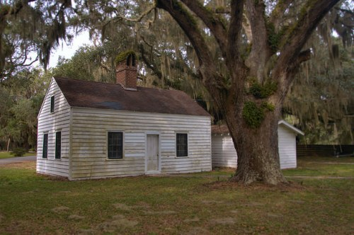 Kilkenny Plantation Kitchen Bryan County GA Photograph Copyright Brian Brown Vanishing Coastal Georgia USA 2015