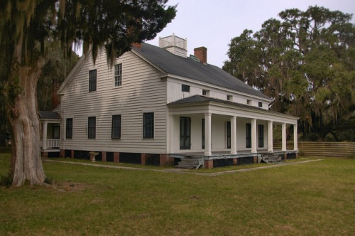 Killkenny Plantation Antebellum Landmark Bryan County GA Photograph Copyright Brian Brown Vanishing Coastal Georgia USA 2015