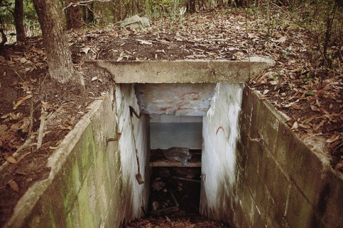 Sunbury Plantation Cold War Era Bomb Shelter Photograph Copyright Brian Brown Vanishing Coastal Georgia USA 2016