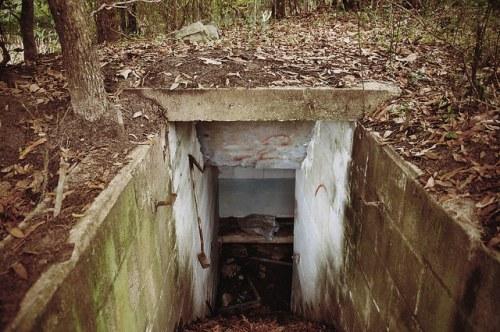 Sunbury Plantation Cold War Era Bomb Shelter Photograph Copyright Brian Brown Vanishing Coastal Georgia USA 2016