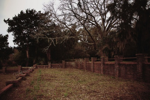 Sunbury Plantation Landing Side Remains Photograph Copyright Brian Brown Vanishing Coastal Georgia USA 2016