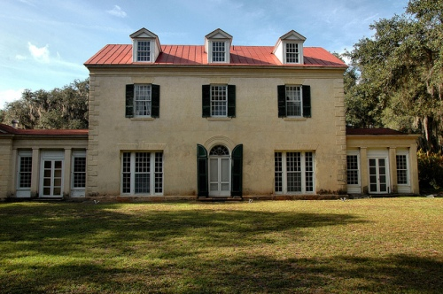 ashantilly-center-darien-ga-mcintosh-county-historic-house-restoration-in-progress-front-elevation-william-haynes-thomas-spalding-coastal-plantation-picture-image-photo-copyright-brian-b